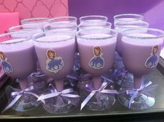 Sofia the First Princess Party GOBLETS Cups/ by BabyForever