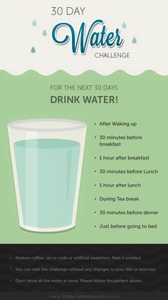 Drinking water challenge (lose weight in 10 days)