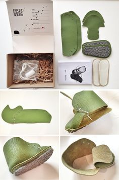 Make Your Own Pair of Baby Shoes