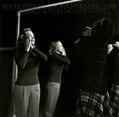 MARILYN MONROE ACTING CLASS RARE 8x10 PHOTO