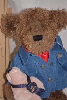 Boyd s Bears Stuffed Animal Billy Ray Beanster Petey Porker Vintage 90s  Jointed 9d46ed8e536a