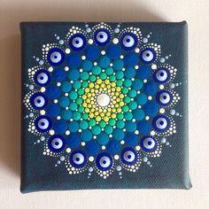 10 x 10 cm dotart peinture sur la qualité de toile:)  La peinture sera envoyée à vous avec priorité Air Mail et maximale protégé !  Je vends seulement mes peintures originales;)