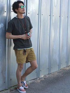 ✯ぱやてろ✯ さんの(OP|オーシャンパシフィック)を使ったコーディネート Short Outfits, Summer Outfits, Casual Outfits, Men Casual, Japan Fashion, Daily Fashion, Mens Fashion, Fashion Tips, Vintage Men