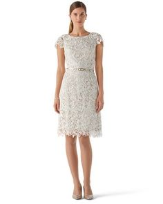 The Elegance Of Lace Clic Design Very Kate Middleton Ecru Guipure Dress House Black Market Melissa Villarreal White