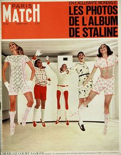 Love old magazine covers! Here are some great ones from Paris Match