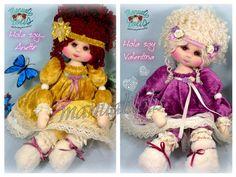 Crochet Hats, Dolls, Tela, Trapillo, Creativity, Puppet, Doll, Puppets, Baby Dolls