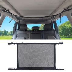 Organizer Auto, Camper Van Life, Suv Camping, Ceiling Storage, Cargo Net, Seat Storage, Car Rental, Travel With Kids, Storage Spaces
