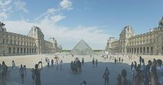 The Louvre or the Musée du Louvre is the world's largest museum and a historic monument in Paris France. A central landmark of the city it is located on the Right Bank of the Seine in the city's 1st arrondissement.  #djmojicaphotos #travel #photography #paris #louvre  djmojicaphotos.com