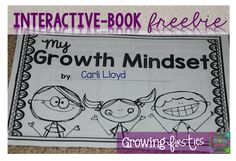 Hi There! Lisa here, from Growing Firsties & I'm going to share a little bit about Growth Mindset today, which is based on Stanford University psychologistCarol Dweck's work.  With a growth mindset,
