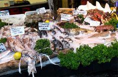 market | London's Borough Market | fish