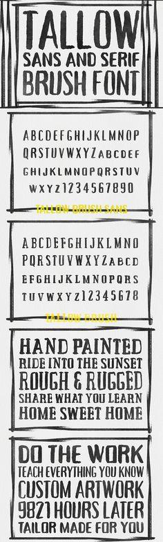 50 Font Mega Bundle (Plus Extras) - Only $39 | MyDesignDeals