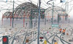 I am Milan: Le volte della Stazione Centrale