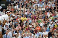 Roger Federer on Centre Court