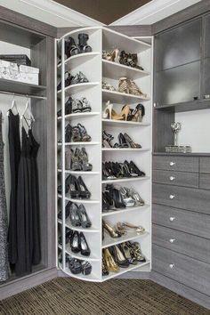 Ins/Reach Ins — Closet Envy Designs - Claire C. Walk Ins/Reach Ins — Closet Envy Designs -Walk Ins/Reach Ins — Closet Envy Designs - Claire C. Walk Ins/Reach Ins — Closet Envy Designs - Open Wardrobe, Wardrobe Furniture, Wardrobe Design Bedroom, Diy Wardrobe, Master Bedroom Closet, Bedroom Wardrobe, Small Walk In Wardrobe, Closet Rooms, Master Bedrooms