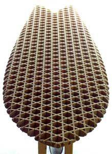 Sheldrake - corregated cardboard surfboard structure