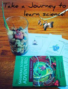 """We love the Sassafras Science Adventures! Fantastic way to learn about plants!"" ~ Review by Charlotte"