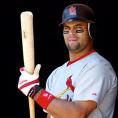 A tasty snack ;) ( Albert pujols )