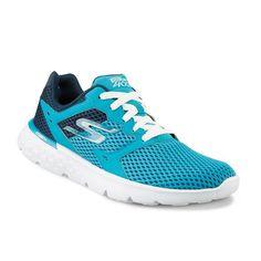 Skechers GOrun 400 Women's Running Shoes, Size: 5.5, Turquoise/Blue (Turq/Aqua)