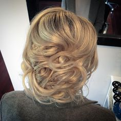 Formal Upstyle Blonde Hair Hairlovedby K I A Y A Blonde Hair Hair