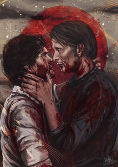 """""""A blood red setting sun Rushing through my veins Burning up my skin I will survive, live and thrive Win this deadly game Love crime"""" (rb/s6)"""
