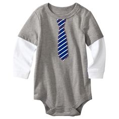 Circo® Newborn Boys' Long-Sleeve Bodysuit - Heather Grey. only $5 at Target!