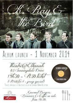 Don't miss the album launch for K, Ray and the Bird! Independent School, Christian Families, Family Values, Theatre, Reception, Product Launch, Album, Bird, Education