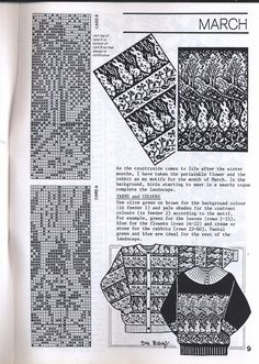 View album on Yandex. Knitting Charts, Knitting Stitches, Knitting Needles, Knitting Patterns, Crochet Patterns, Fair Isle Chart, Fair Isle Pattern, Shibori, Fair Isle Knitting