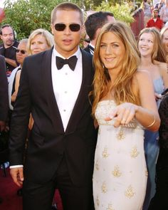 Brad Pitt andJennifer Aniston. I miss them being together