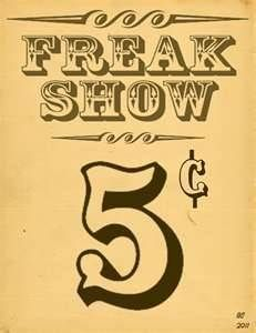 ... show posters on Pinterest | Sideshow, Freak Show and Vintage Circus