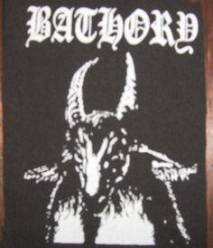 BATHORY goat patch black metal Free Shipping
