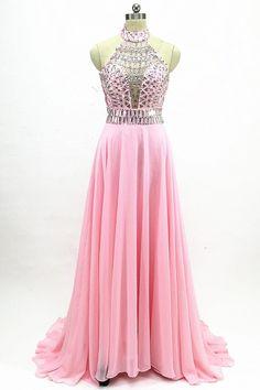 8cf302a1781 blush pink prom dress long 2019 evening dress elegant homecoming dress  floor length graduation dress