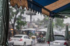#rainyday at #Chatujakmarket in #bangkok
