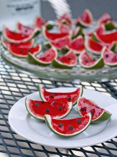 Watermelon? Jello Shot? Both! hhuckk