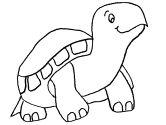 Dibujos de tortugas para colorear y pintar