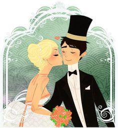 wedding by ~kgwa on deviantART