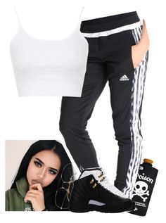 """""""."""" by xtiairax ❤ liked on Polyvore featuring Valfré, adidas, NIKE and Topshop"""
