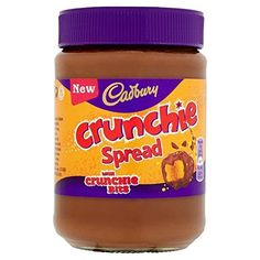 Original Cadbury Crunchie Chocolate Spread Imported From The UK England British Crunchie Chocolate Spread British Choclate Spread Cadbury Crunchie, Cadbury Chocolate, Chocolates, Marshmallow Sweets, Amazon Auto, Tesco Groceries, Chocolate Spread, Cuisine, Candy