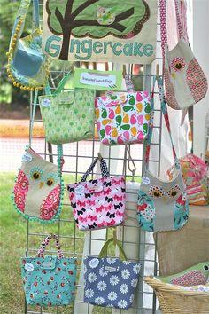 owl purse with fringe (left