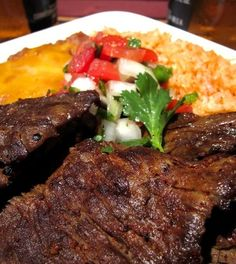Delicious Carne Asada! Perfect for summer grilling party!