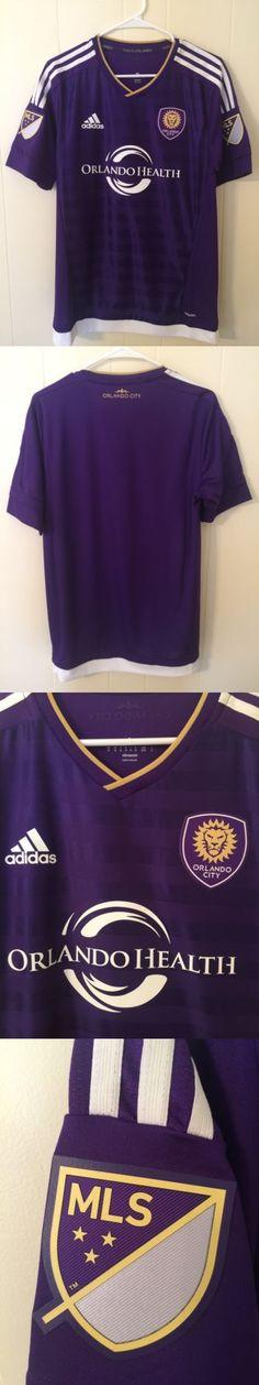 d4389811cae3 Soccer-MLS 2888  Authentic Adizero Medium Orlando City Soccer Jersey -  BUY  IT