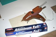 Check out just 3 Tips and Tricks that you can do with a Hot Glue Gun![media_id:3095737]Use Aluminum Foil to clean the burnt built-up glue, off the tip of your…