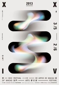 """XXIV Festival of Art a Macao"" - Poster, - Graphic Design by ""'Chiii' Studio Design"", (Macao, Special Administrative Region of China). Cover Design, Graphisches Design, Layout Design, Blog Layout, Logo Design, Dm Poster, Poster Layout, Typography Poster, Macau"