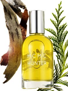 Smells like: Tobacco, bourbon, balsam fir Hunter ($95) by MCMC Fragrances, mcmcfragrances.com
