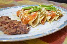 CHUCHEMAN como hacer enchiladas huastecas veracruzanas - Recetas de cocina