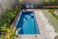 Backyard Pool Landscaping, Backyard Pool Designs, Small Backyard Pools, Small Pools, Swimming Pools Backyard, Outdoor Pool, Pool Fence, Raised Pools, Verona