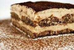 Tiramisu tojásmentes krémmel 4. Tiramisu, Hungarian Recipes, Hungarian Food, Trifle, Coffee Recipes, Cake Cookies, Mousse, Paleo, Goodies