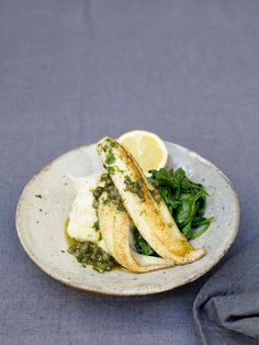 little sole goujons with a quick lemon & caper sauce | Jamie Oliver | Food | Jamie Oliver (UK)