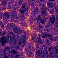 Intergalactic Matter Structure (Millennium Simulation)