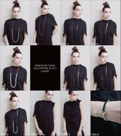 Luxury: Vegetable dyed leather and rare bead necklaces