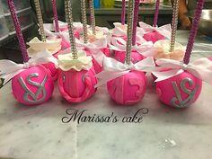Victoria's Secret candy apples desserts. Visit us Facebook.com/marissa'scake or www.marissascake.com